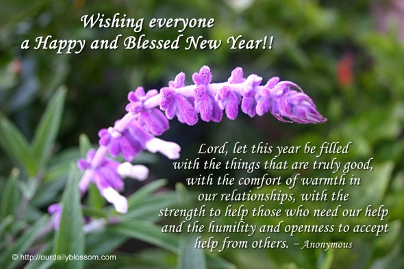 Lord, Let This Year Be Filled With The Things That Are Truly Goodu2014with